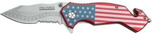 United States of America Flag Knife 4.5""