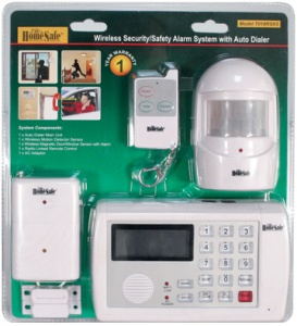 Home Safe Wireless - Home Alarm