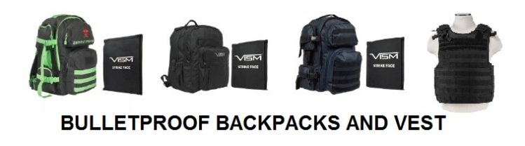 Bullet Proof Vest and Backpacks REV